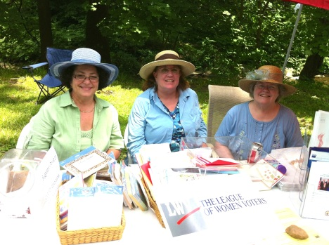 League Table at 2012 Haverford Twp. Heritage Festival