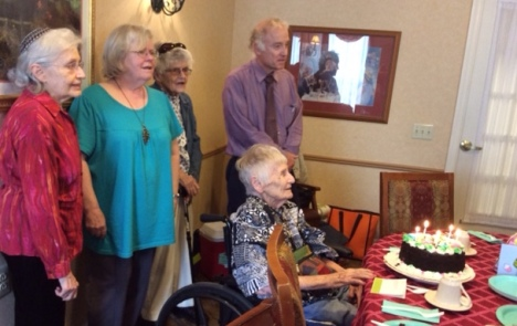 Roberta Ehrenberg, an LWV member for more than 50 years, celebrated her 93rd birthday recently. Roberta is also a past President of the Pennsylvania LWV.
